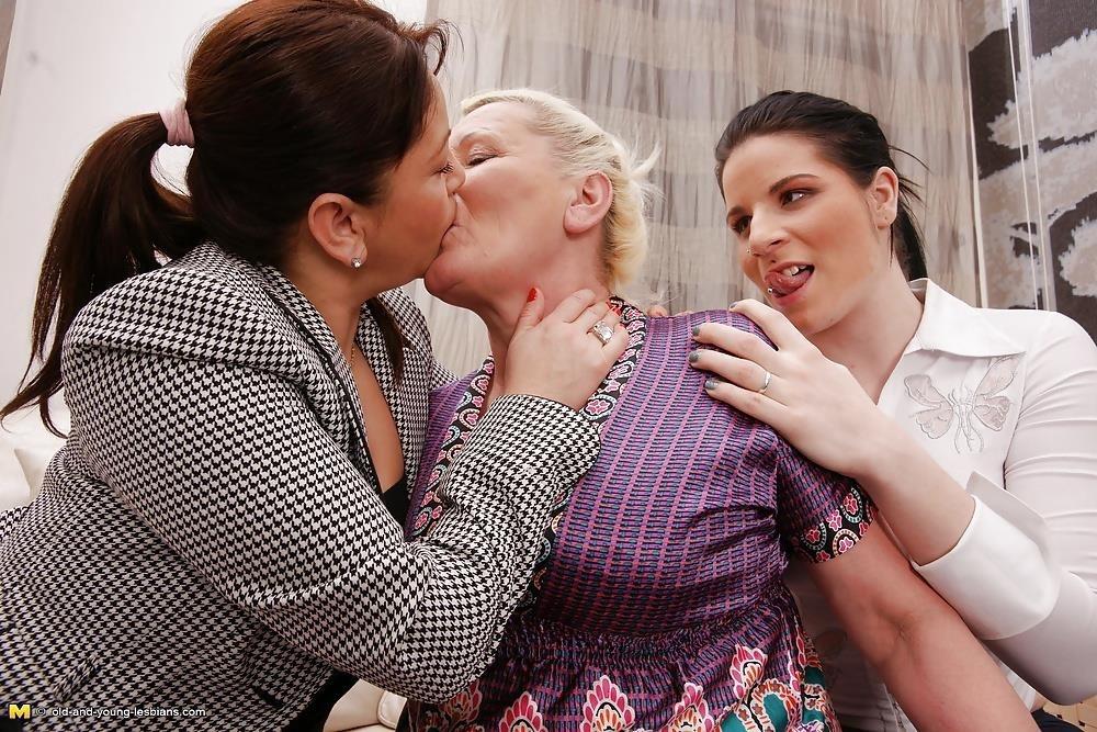Lesbian grandma orgy-5976