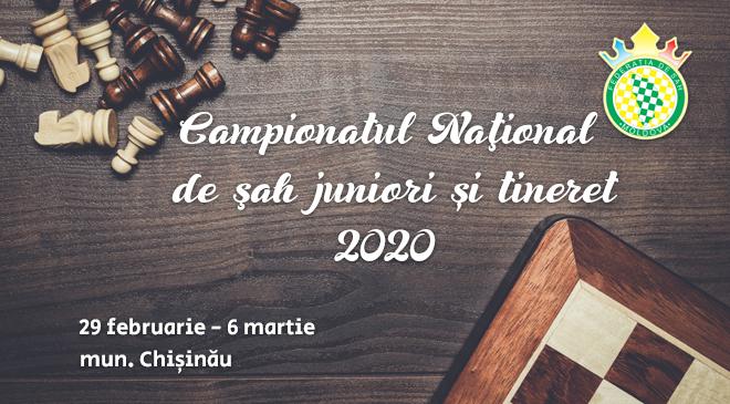 Campionatul Naţional de şah juniori și tineret – 2020
