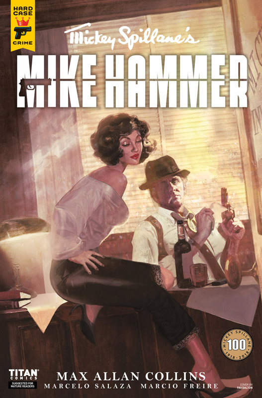 Mickey Spillane's Mike Hammer #1-4 (2018)