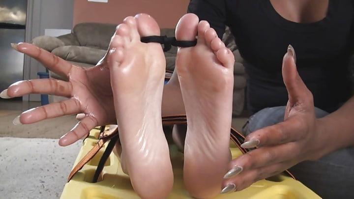 Bondage tickle feet-4774