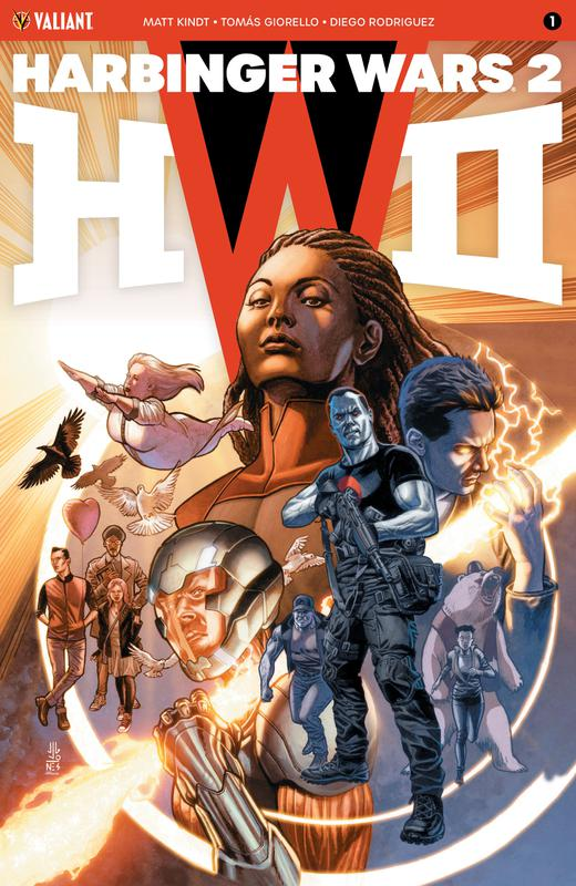 Harbinger Wars 2 #1-4 (2018)
