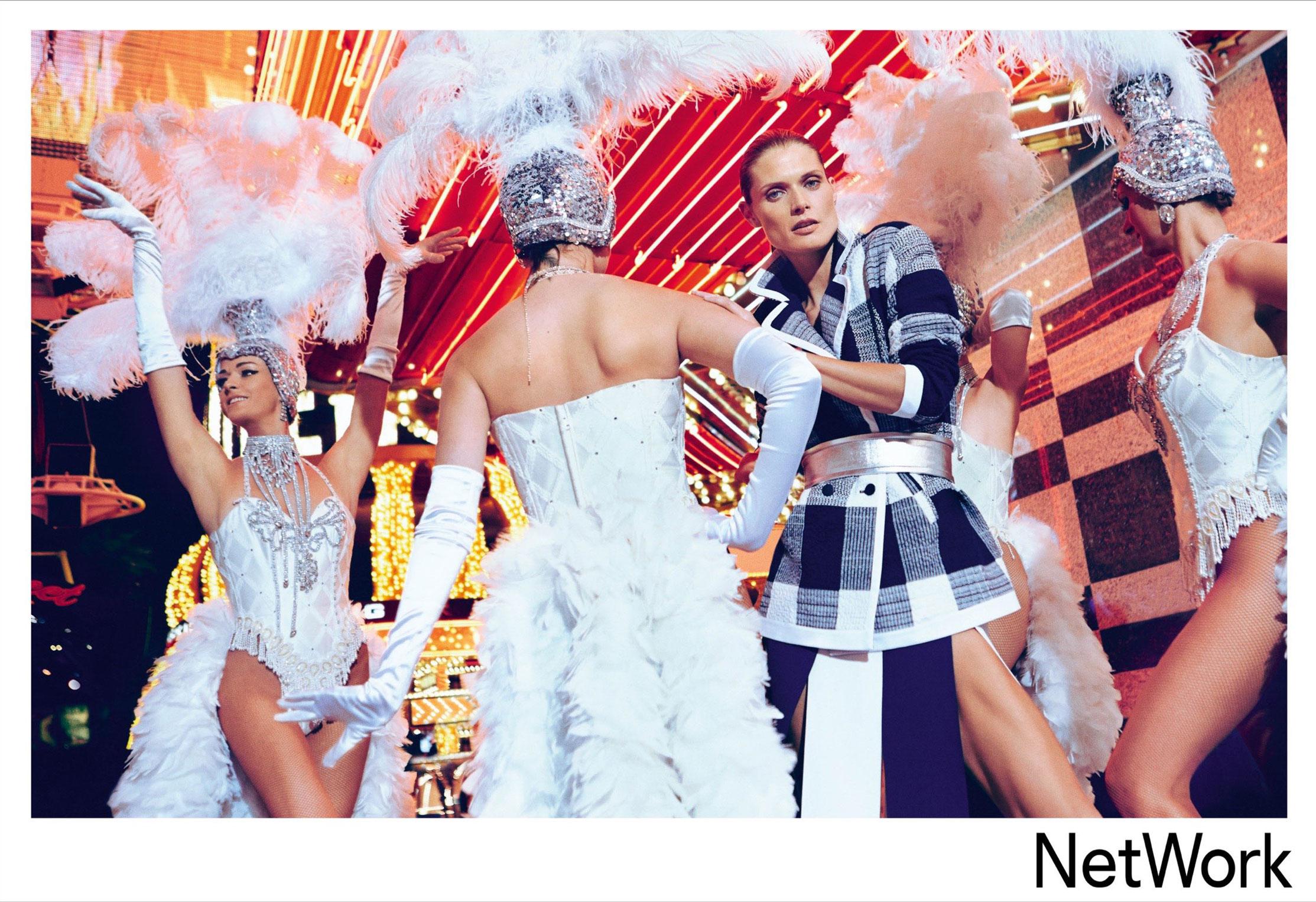 супермодель Малгоша Бела в рекламной кампании турецкого модного бренда Network, сезон весна-лето 2015 / фото 08