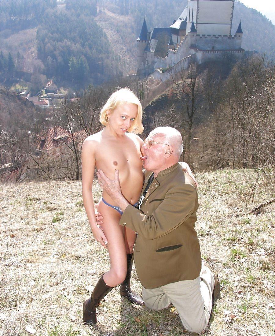 Grandpa with teen sex-6770
