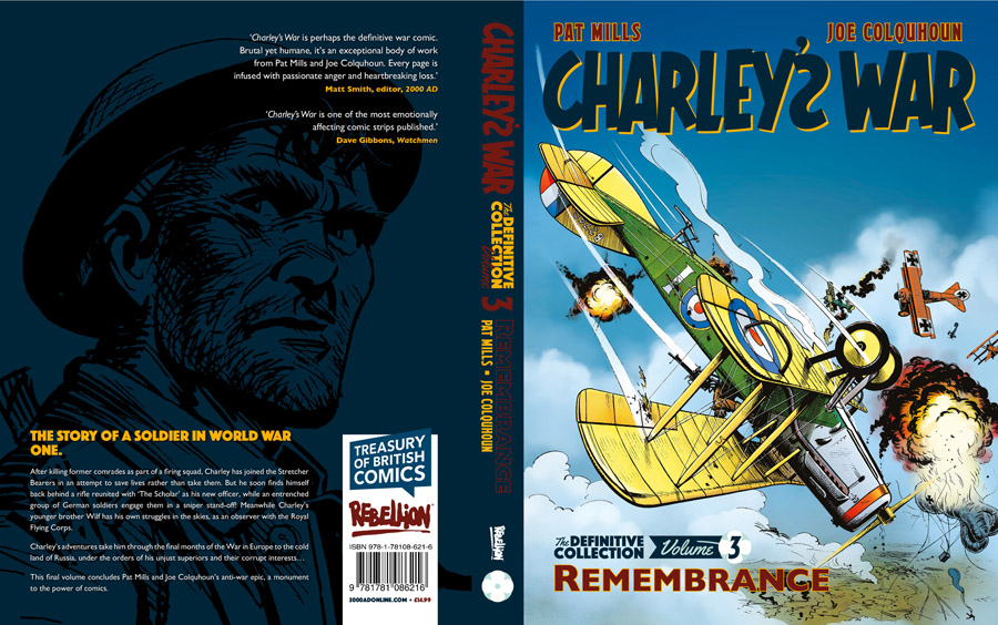 Charleys War - The Definitive Collection v03 - Remembrance (2018)