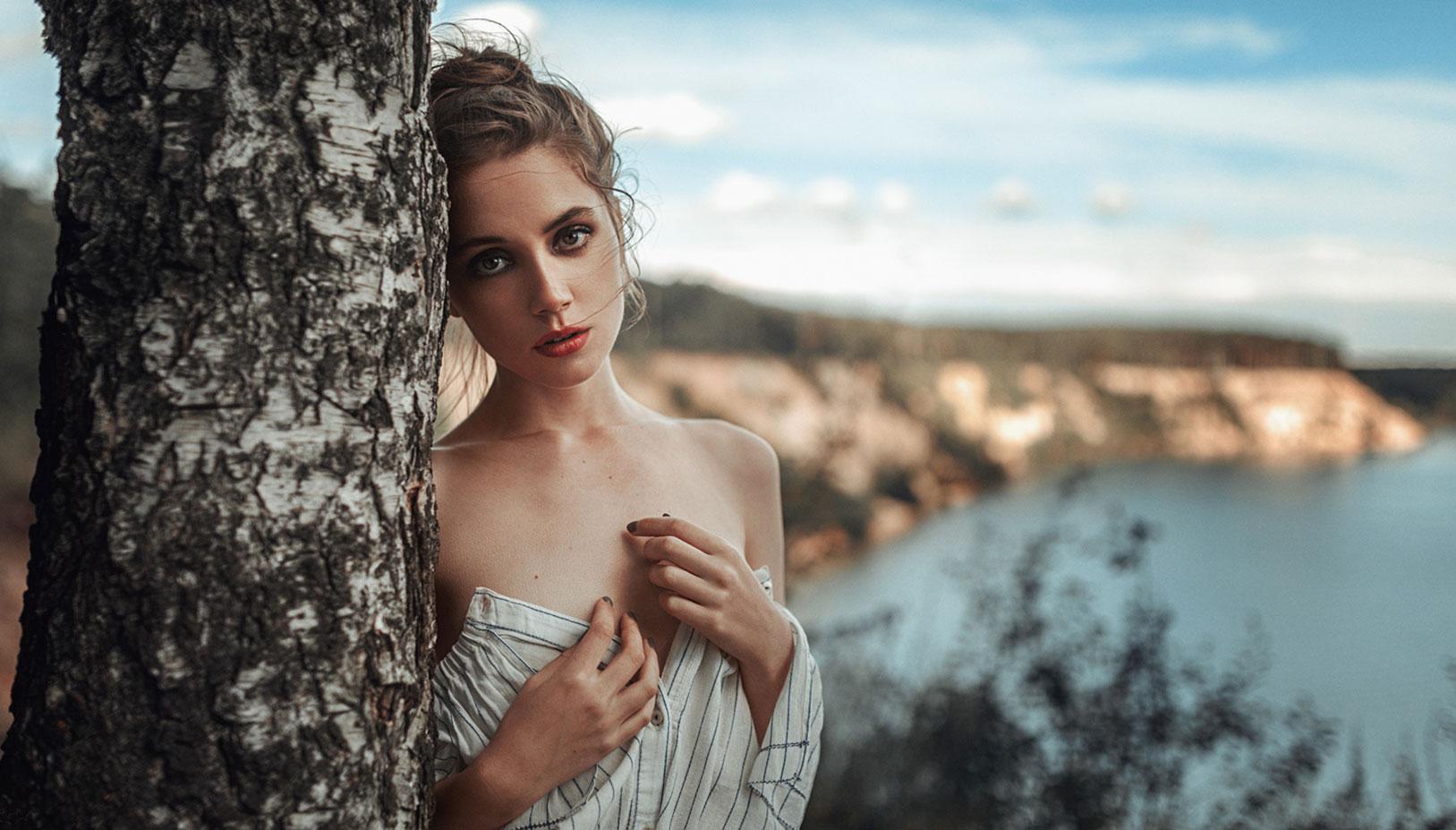 Ксения Кокорева на природе / фото 05