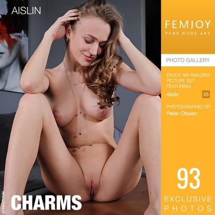 [Femjoy.com] 2021.06.14 Aislin - Charms