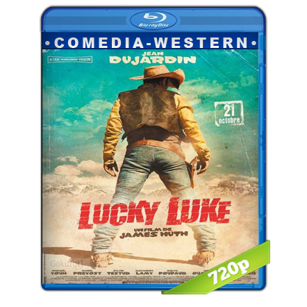 descargar Lucky Luke HD720p Audio Dual Castellano-Frances 5.1 (2009) gratis