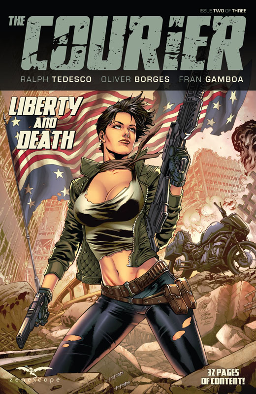 The Courier - Liberty and Death #1-2 (2021)