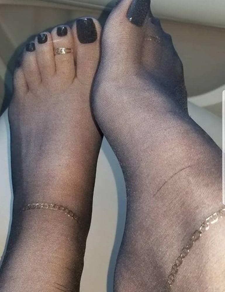 Nylon feet porn hd-8489