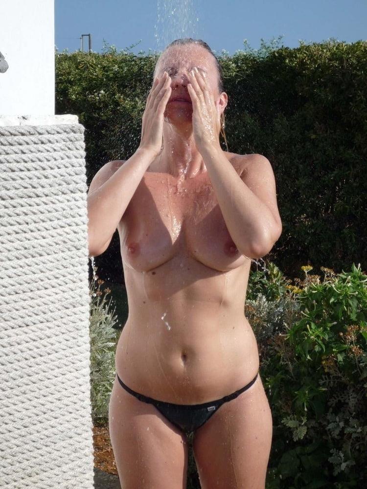 Short blonde hair nude-2063