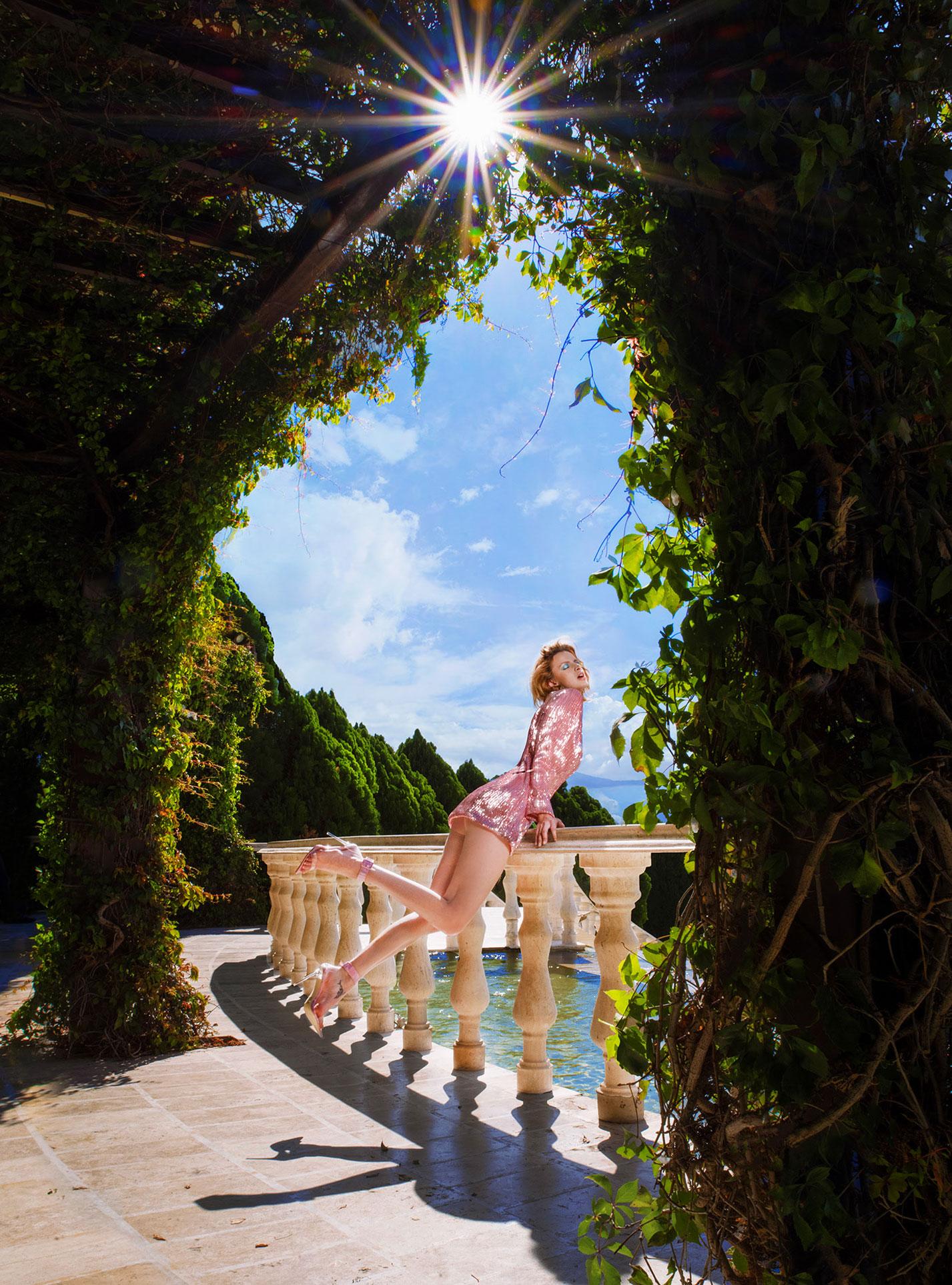 Три грации в рекламной кампании модной одежды Edher Gin, сезон весна-лето 2020 / фото 10