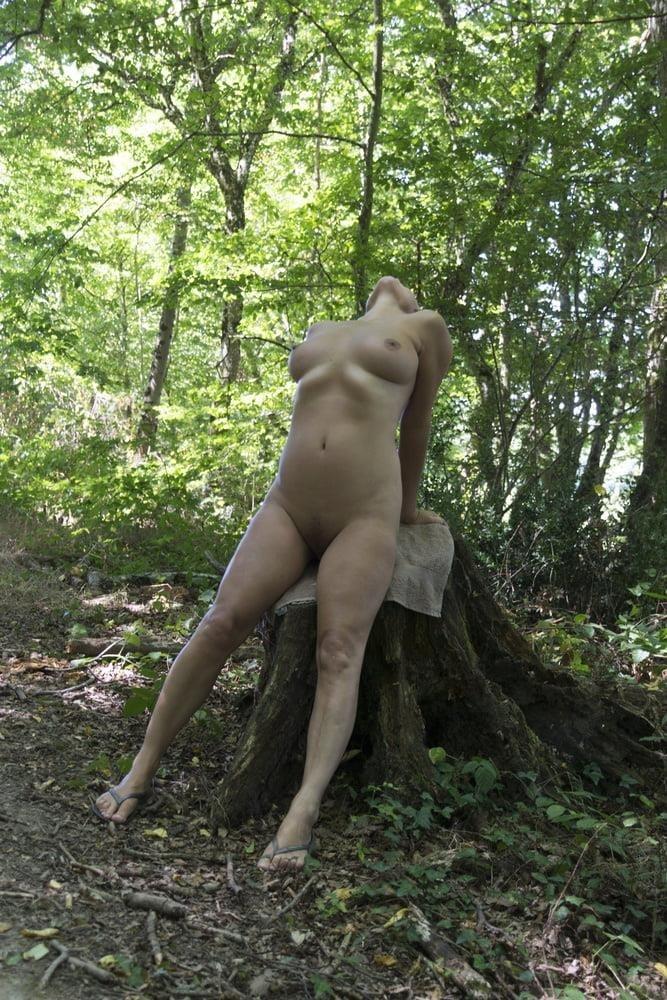 Milf naked in public-3769