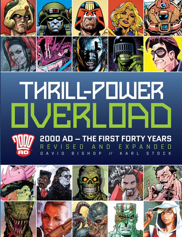 Thrill-Power Overload - 2000 AD - The First Forty Years (2017)