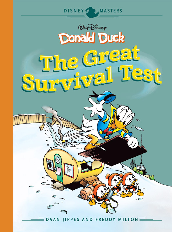 Disney Masters v04 - Donald Duck - The Great Survival Test (2018)