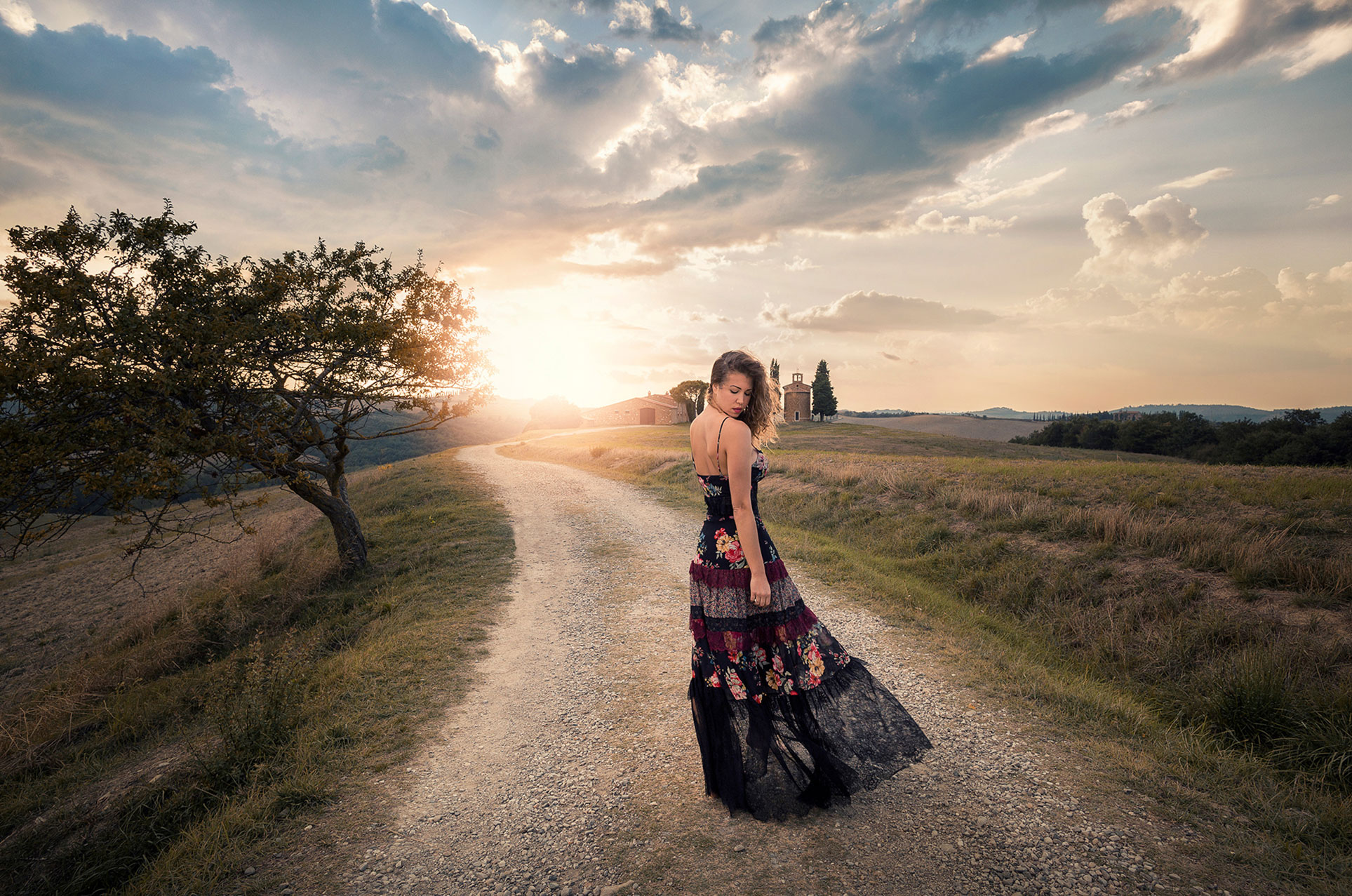 Модная фотопрогулка по Тоскане, Италия / Elisabete Martins by Vitor Murta - Fashion and Travel Photo Shoot in Tuscany, Italy