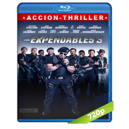 Los Indestructibles 3 720p Lat-Cast-Ing[Acción](2014)