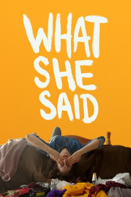 What She Said 2021 1080p WEB-DL AAC2 0 H 264-CMRG