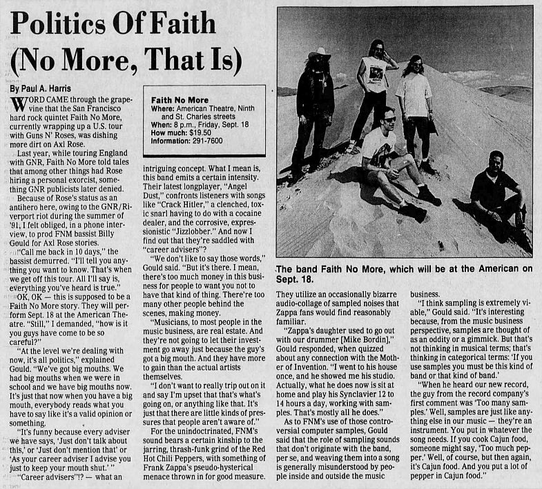 1992.MM.DD - Excerpts from various interviews with members of Faith No More NXzO3YFy_o