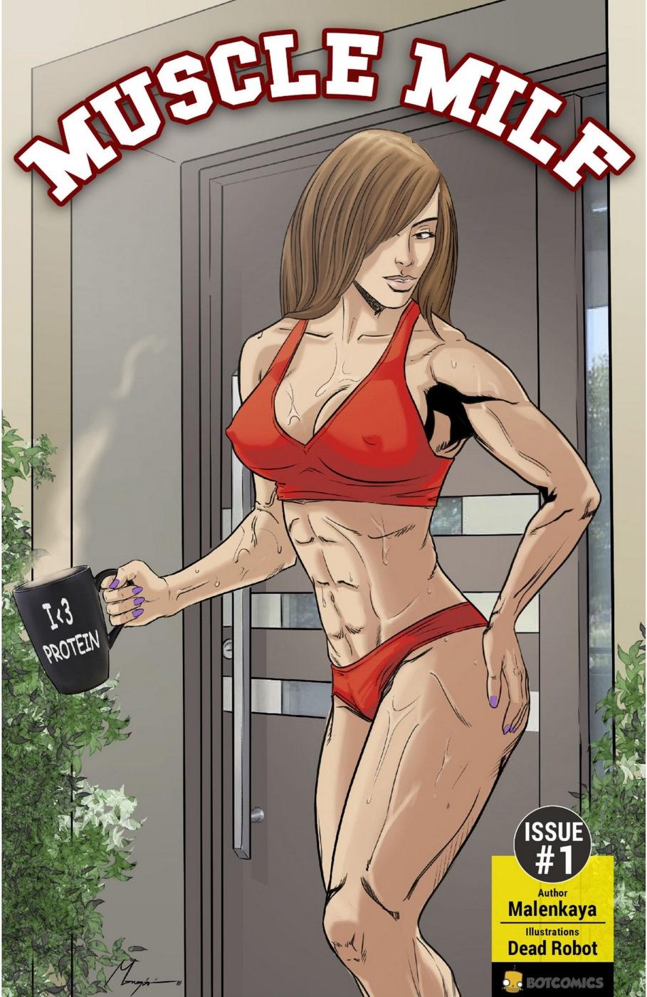 Mujer musculosa tiene sexo