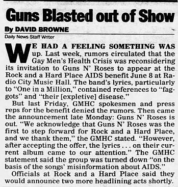 1989.03.15 - Journal and Courier - Guns N' Roses axed from AIDS benefit RDrBnXhj_o