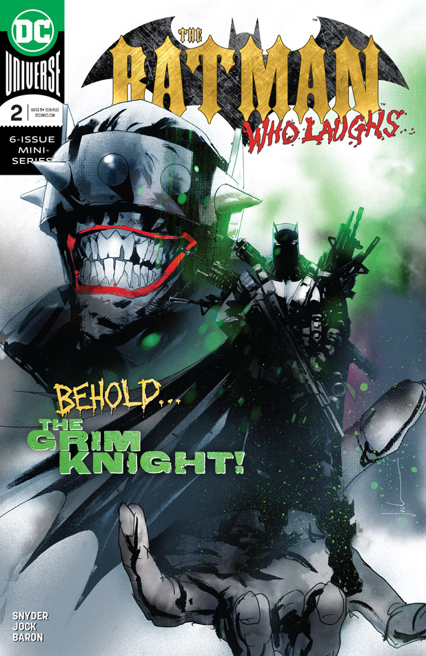 The Batman Who Laughs #1-3 (2019)