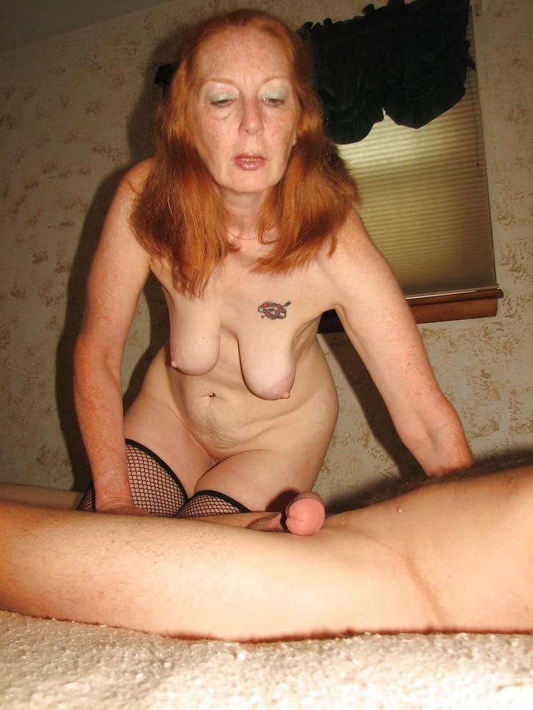 Ginger granny anal-9465