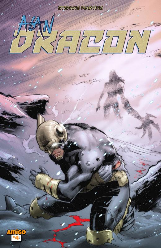 Alan Dracon #1-4 (2016-2018)