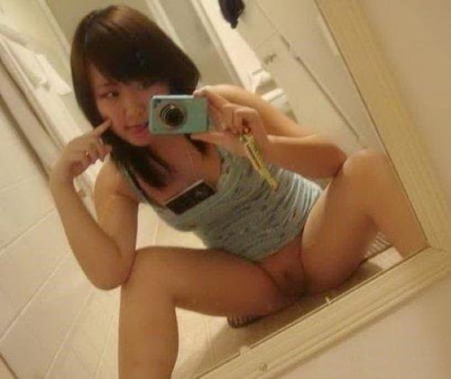 Hot nude asian selfies-9370