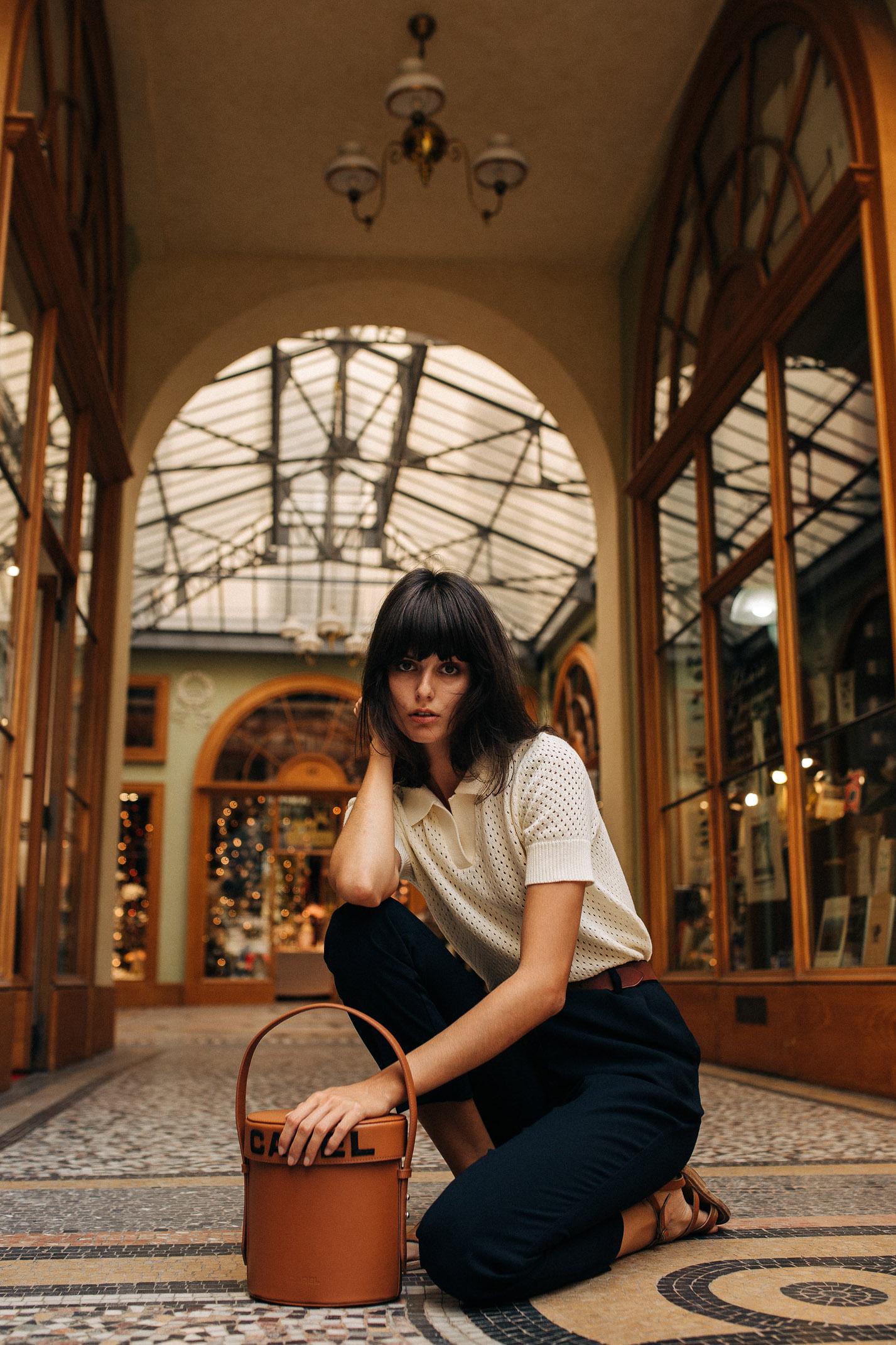 прогулка по парижской торговой галерее с Жустин Соранзо / фото 10