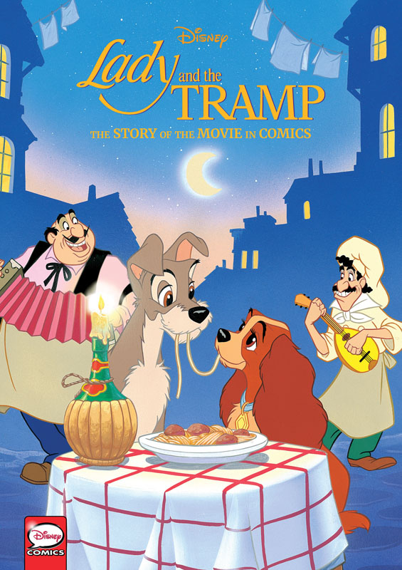 Disney Lady and the Tramp - The Story of the Movie in Comics (2020)