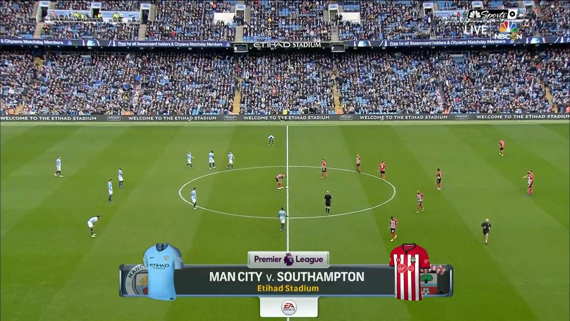 Xem lại: Manchester City vs Southampton