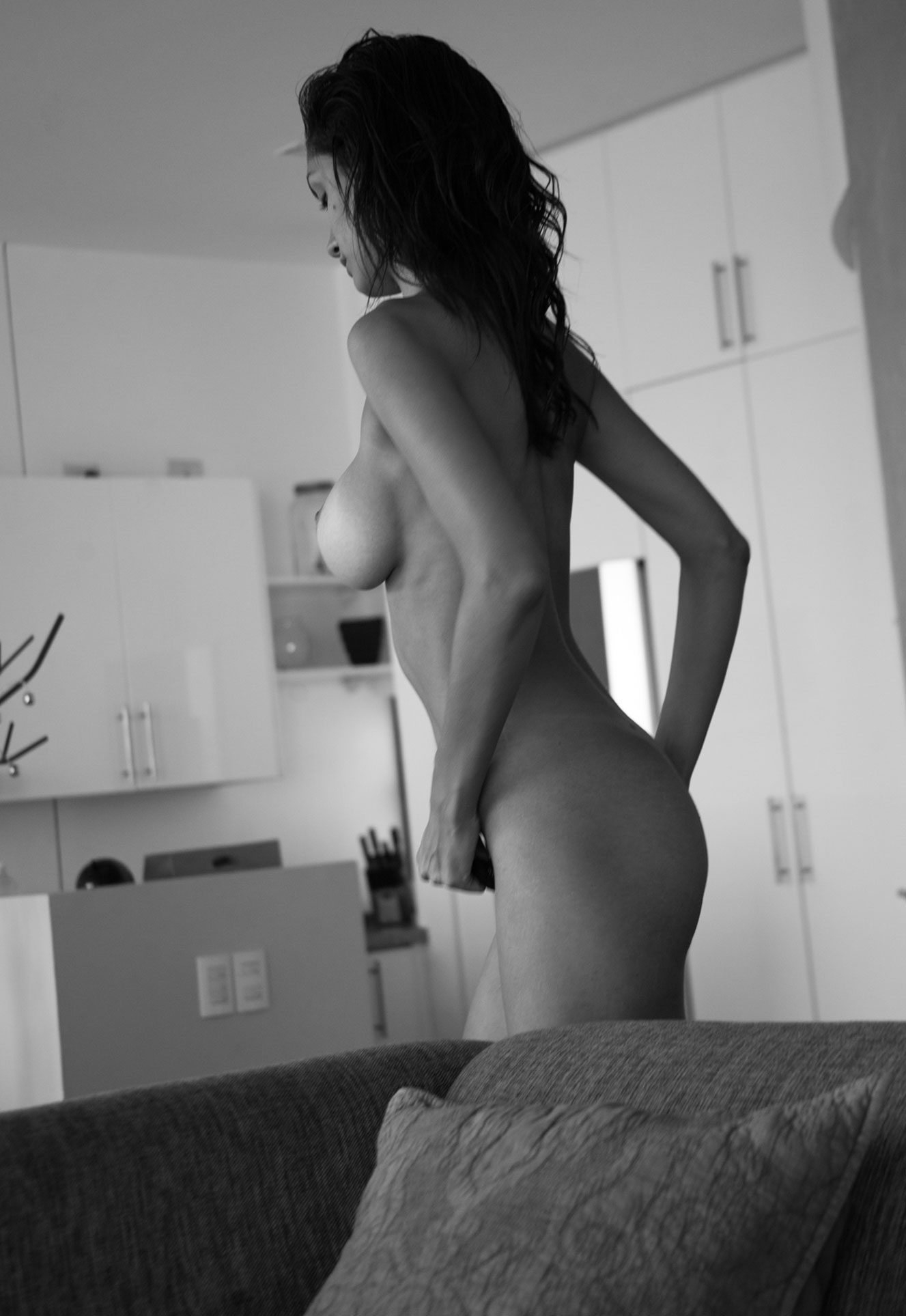 Nadina Loreley nude by Omar Coria