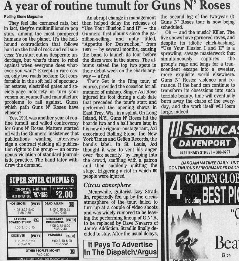 1992.01.05 - The Dispatch/Rolling Stone - A year of routine tumult for Guns N' Roses NLJtQS1z_o