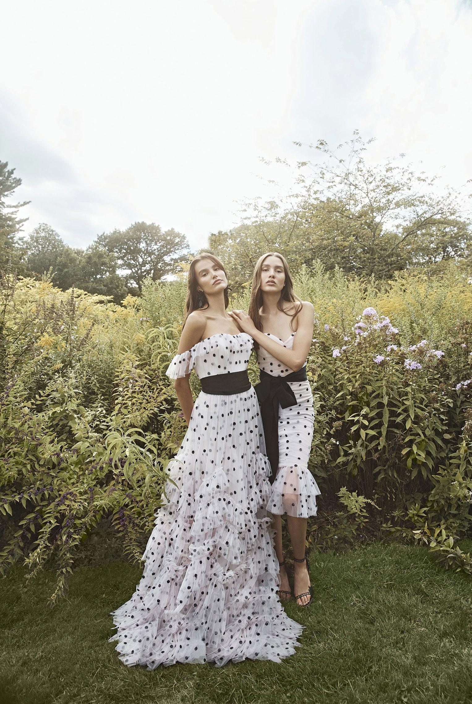 Коллекция модной одежды Marchesa, сезон весна-лето 2020 / фото 10