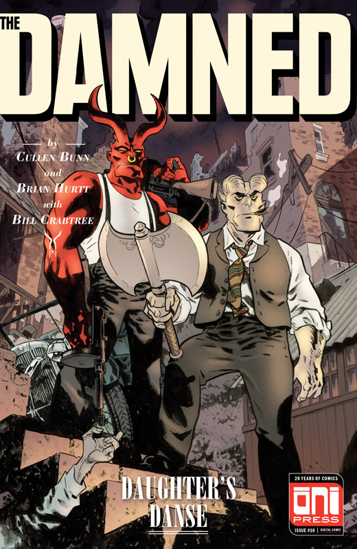 The Damned #1-10 (2017-2018)