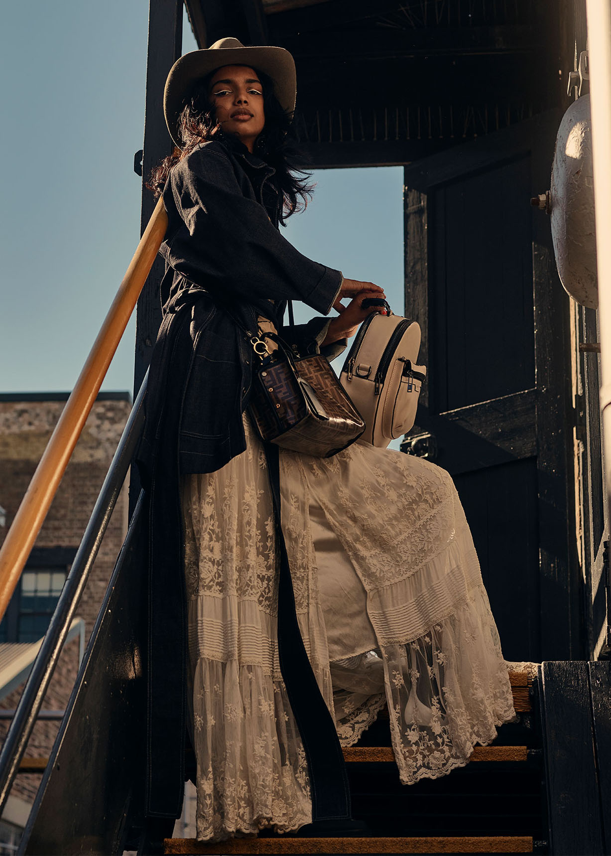 Tex and the City / Monica Tomas by Nick Tsindos / Grazia Australia june 2018