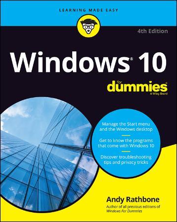 Windows 10 For Dummies, 4th Edition