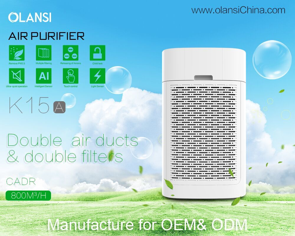 Olansi Healthcare Co., Ltd Offers Superior Air Purifier Capable of Completely Transforming Users' Homes and Offices Into a Health Space
