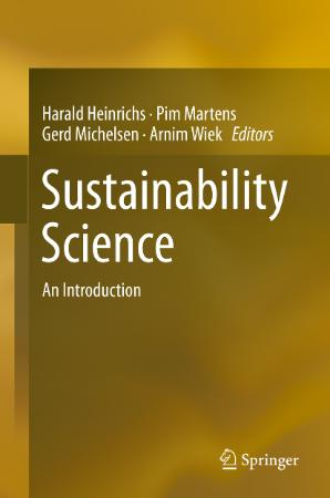 Sustainability Science An Introduction