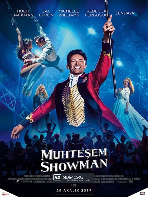 Muhteşem Şovmen - The Greatest Showman (2017) m1080p Türkçe Dublaj HD indir