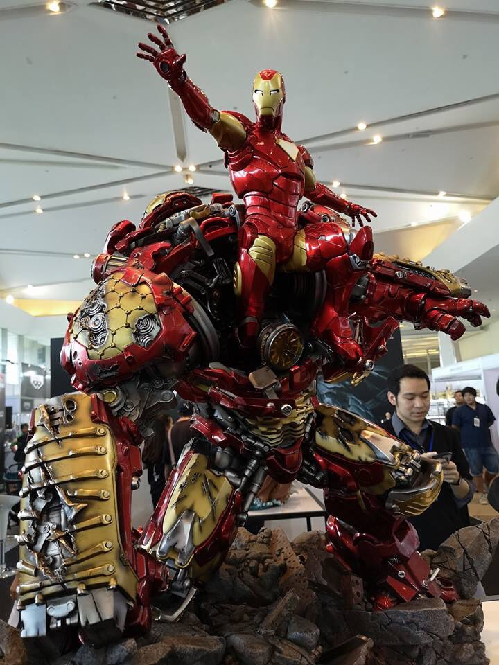 Avengers : Age of Ultron - HulkBuster Premium Collective 1/4 Statue (Hot Toys) CTfzGitW_o