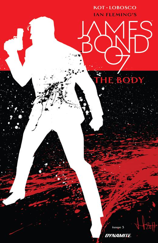 James Bond - The Body #1-6 (2018) Complete