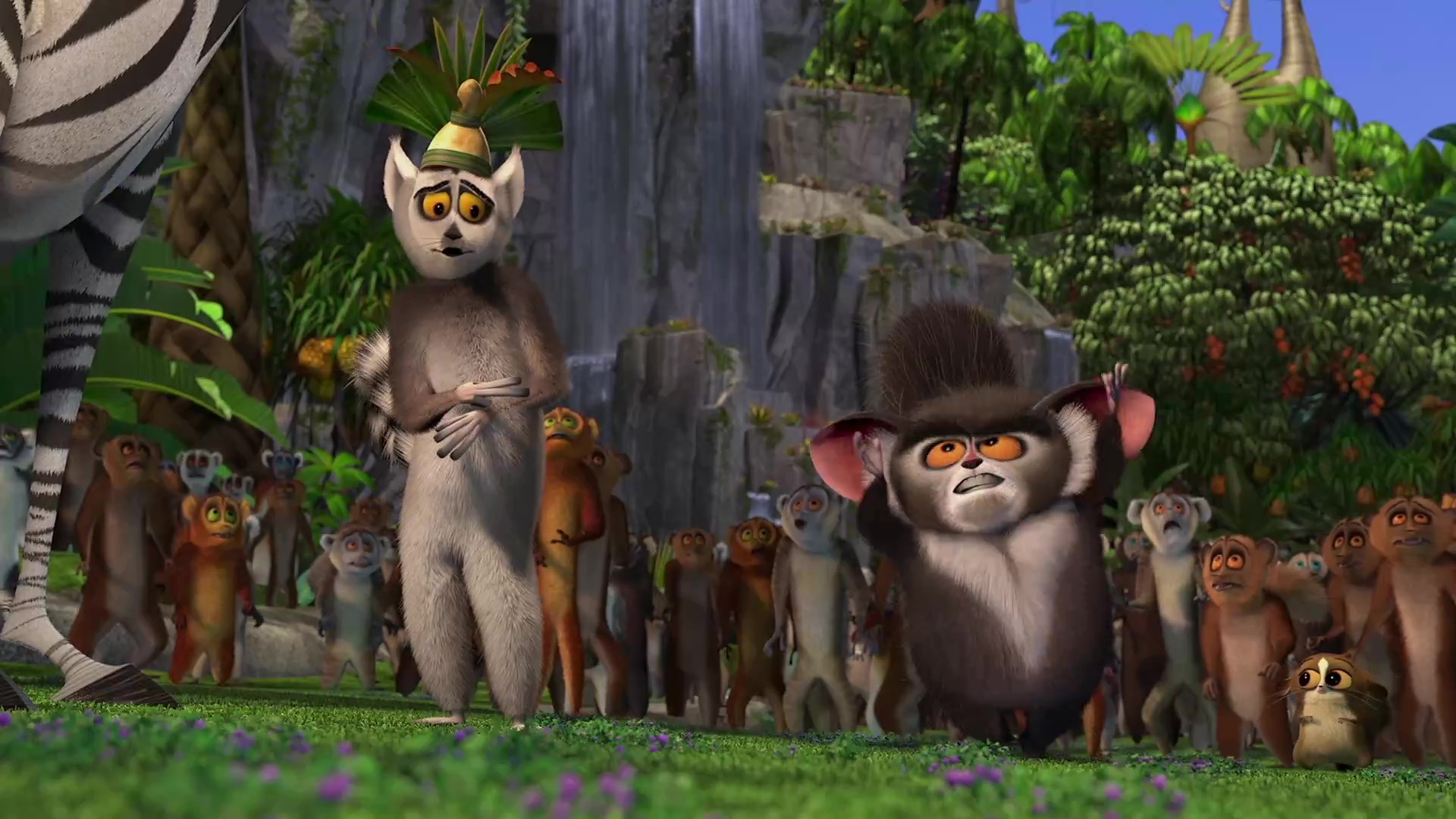 Madagascar [2005][BD-Rip][1080p][Lat-Cas][Animacion]