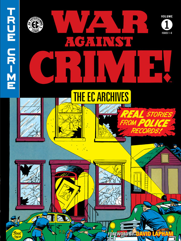 The EC Archives - War Against Crime v01 (2018)