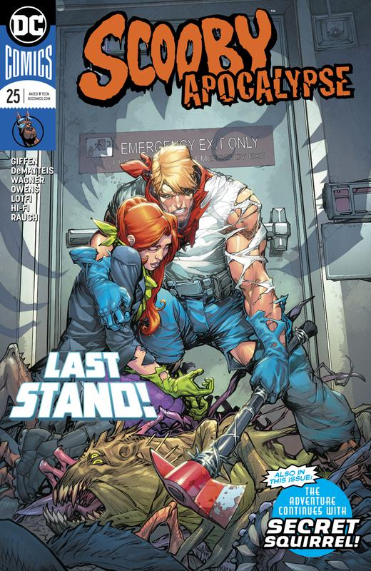 Scooby Apocalypse #1-26 + Special (2016-2018)