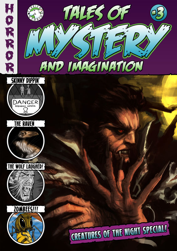 Tales of Mystery and Imagination #1-3 (2015-2016)