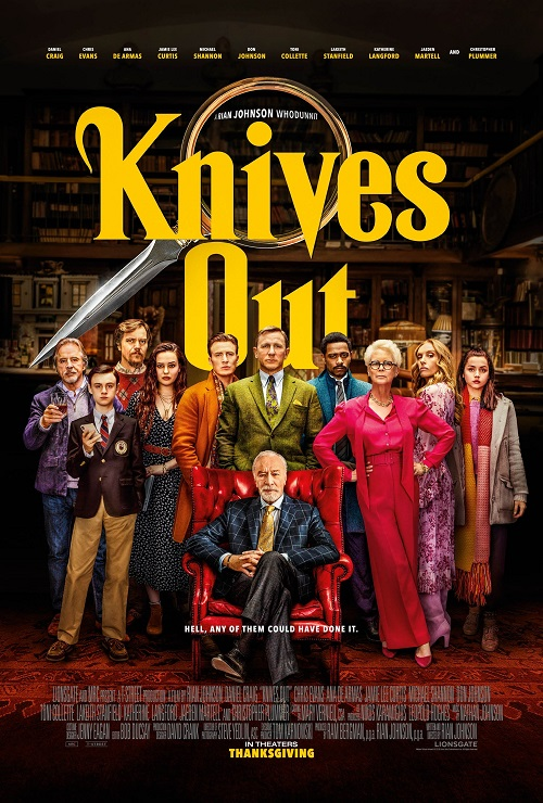 Na noże / Knives out (2019) MULTi.720p.BluRay.x264.AC3-DENDA / LEKTOR i NAPISY PL