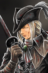 Bloodborne: Lady Maria and The Old Hunters