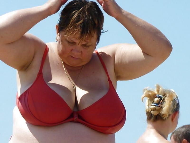 Nude big boobs on beach-1803