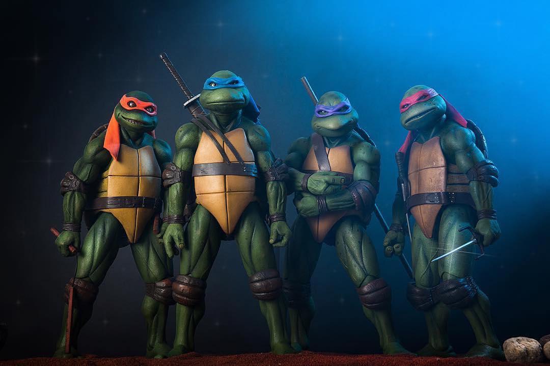 Teenage Mutant Ninja Turtles 1990 Exclusive Set (Neca) RwoMxZmA_o